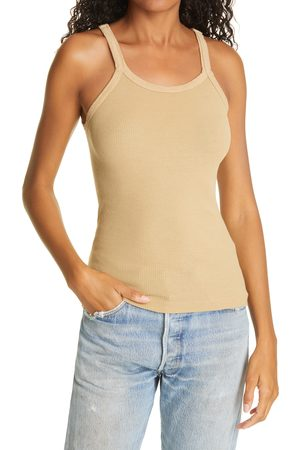 RE/DONE Women's Ribbed Tank Top