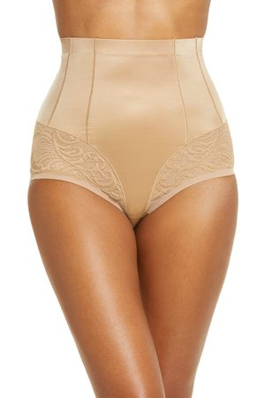 Natori Women's Feathers High Waist Control Top Shaping Briefs