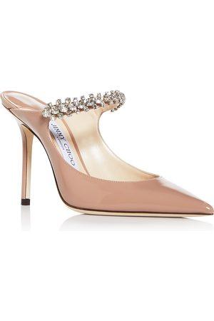 Jimmy Choo Women's Bing 100 Embellished High-Heel Mules