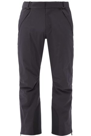 Moncler Technical Soft-shell Ski Trousers - Mens - Dark Navy