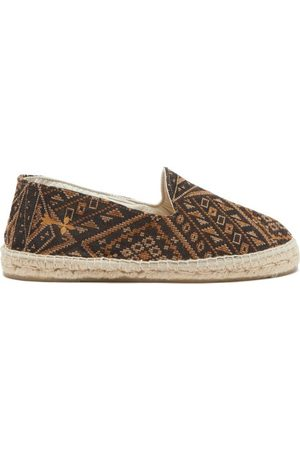 MANEBI Marrakesh Geometric-jacquard Espadrilles - Mens - Multi
