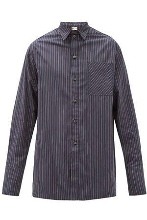 Boramy Viguier Pinstriped Cotton Shirt - Mens