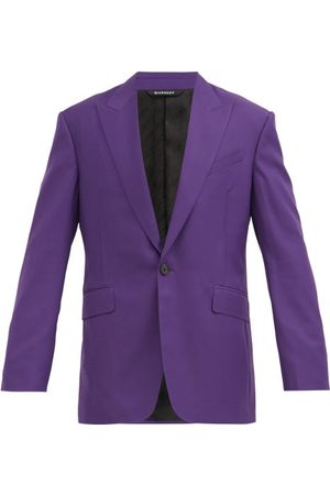 Givenchy Single-breasted Wool-twill Suit Jacket - Mens