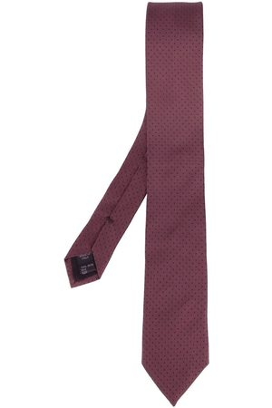 Dolce & Gabbana Polka dot embroidered tie
