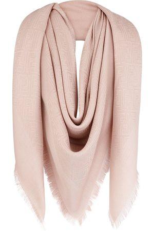 Fendi Women Scarves - FF motif shawl scarf