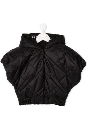 Lapin House Padded short sleeve jacket