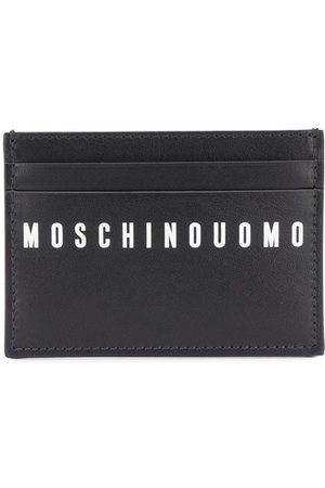 Moschino Graphic print cardholder