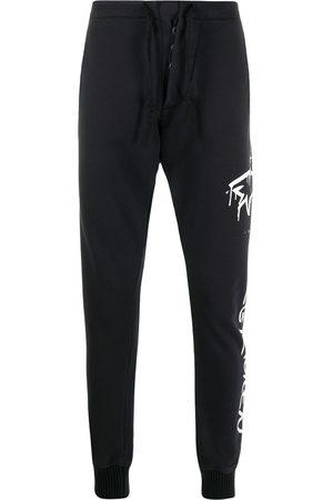 Paul & Shark Men Sweatpants - Shark-print track trousers