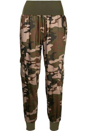 Cinq A Sept Women Pants - Camouflage tracksuit bottoms