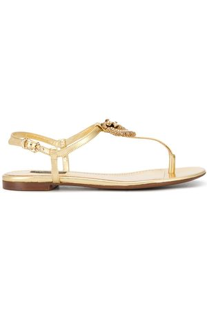Dolce & Gabbana Women Sandals - Devotion T-strap sandals