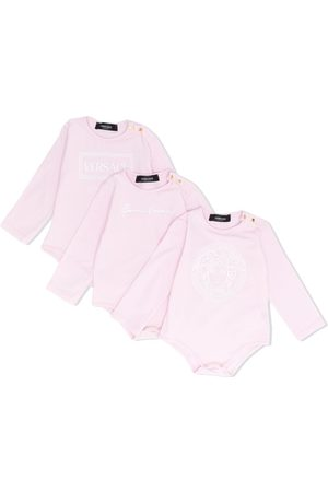 VERSACE Bodysuits & All-In-Ones - Set-of-three babygrows
