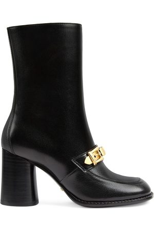 Gucci Chain-detail ankle boots