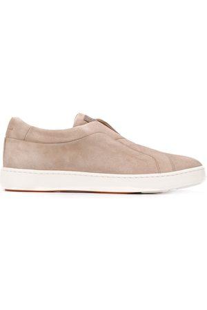 santoni Laceless low sneakers
