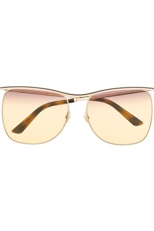 Gucci Aviators - Curve bridge aviator sunglasses