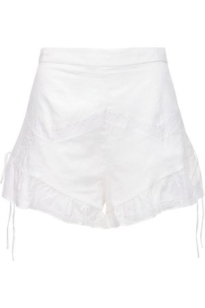 SIR Women Shorts - Caprice Ruffled Cotton Shorts