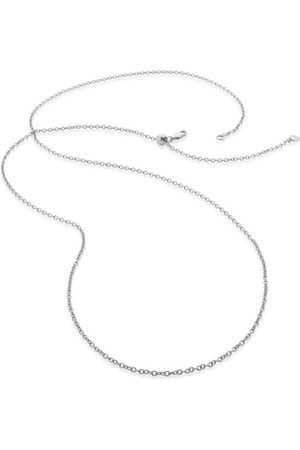 """Monica Vinader Rolo Chain 32""""/81cm with adjuster, Sterling Silver"""
