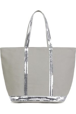 Vanessa Bruno Women Purses - Canvas and Sequins L zipped Cabas Tote