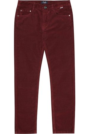 Il gufo Stretch-cotton corduroy jeans