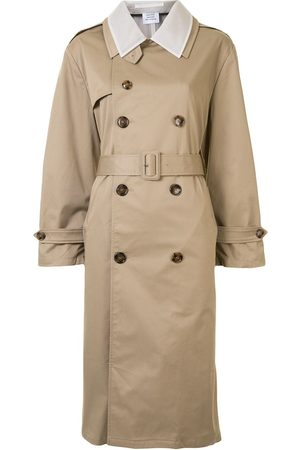 Vetements Panelled trench coat - Neutrals