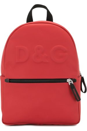 Dolce & Gabbana Boys Rucksacks - Logo-embossed backpack