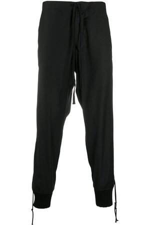 GREG LAUREN Drawstring waist trousers