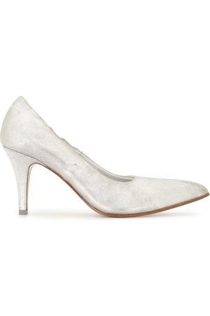 MM6 MAISON MARGIELA Women Heeled Pumps - Metallic low-heel pumps