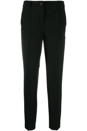 Moschino Mid rise straight leg trousers