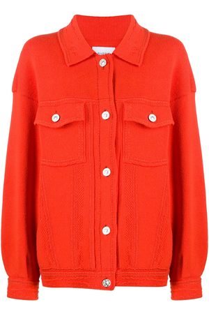 Barrie Women Cardigans - Ribbed-panel oversized cardigan