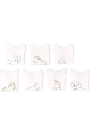 Stella McCartney Rompers - X7 horse embroidered bodies