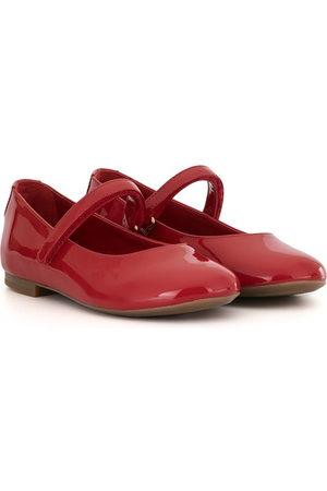 Dolce & Gabbana Touch-strap ballerina shoes
