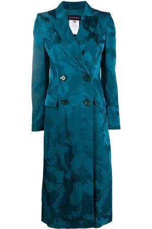 TALBOT RUNHOF Buckingham brushstroke-jacquard coat