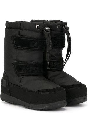 Dolce & Gabbana Logo snow boots
