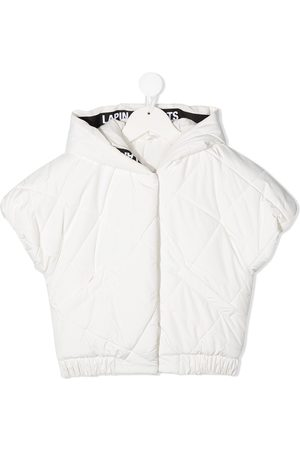 Lapin House Girls Puffer Jackets - Short-sleeved quilted jacket