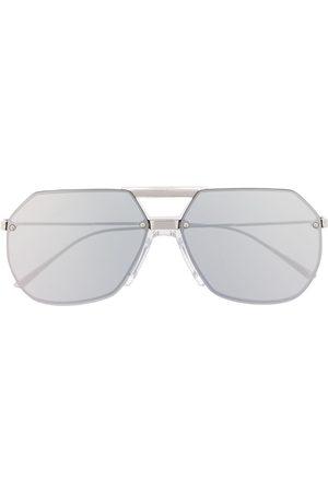 Bottega Veneta Men Aviators - Aviator-frame sunglasses