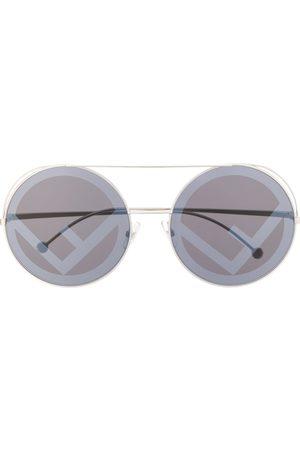 Fendi Run Away logo sunglasses