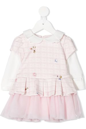 Lapin House Baby Printed Dresses - Floral-print layered dress