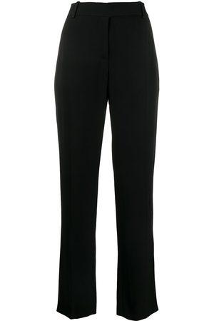 VALENTINO High-waist straight-leg trousers