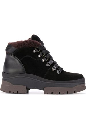 See by Chloé Chunky lace-up leather boots
