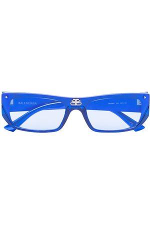 Balenciaga Shield rectangular-frame sunglasses - 3