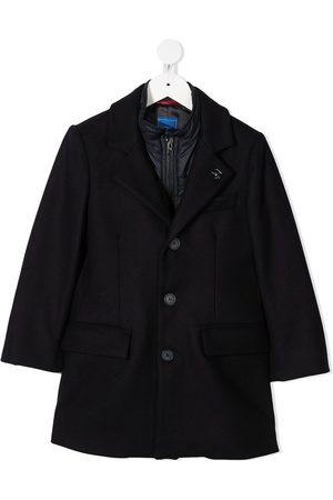 FAY KIDS Layered wool coat