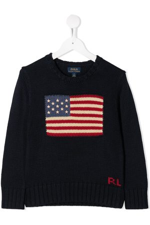 Ralph Lauren Flag print jumper