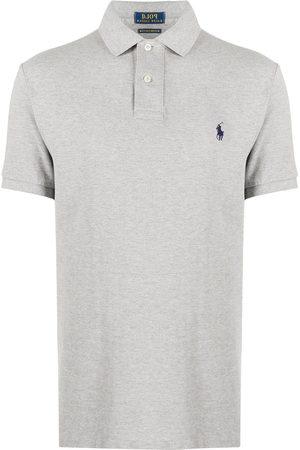Polo Ralph Lauren Logo embroidered polo shirt - Grey