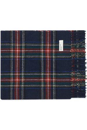 Universal Works Men Scarves - Tartan Wool Scarf