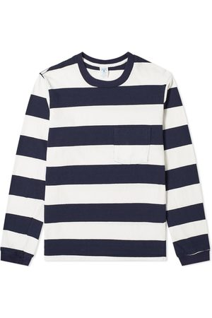 Velva Sheen Long Sleeve Wide Stripe Tee