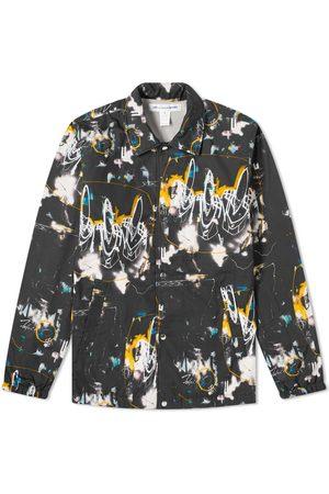 Comme des Garçons Comme des Garcons SHIRT Futura Print A Coach Jacket