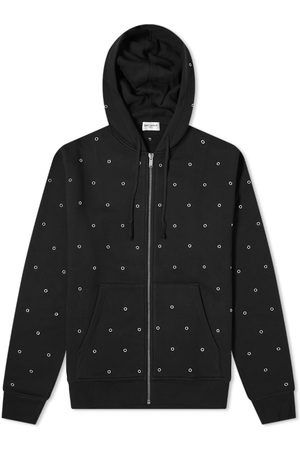Saint Laurent Rivet Zip Hoody