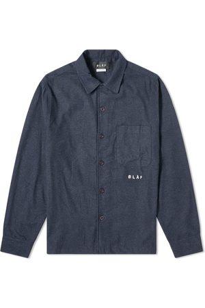 OLAF HUSSEIN Flannel Overshirt