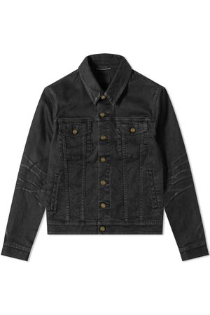 Saint Laurent Classic Coated Denim Jacket