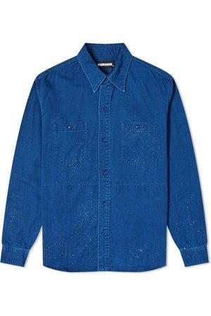 NEIGHBORHOOD Long Sleeve Indigo Work Shirt