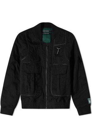 Reese Cooper Nylon Bomber Jacket